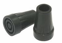 Antgaliai ramentams Ø14mm su metaliuku (WSI) Spalva : Juoda