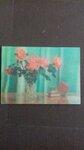 Stereo atvirutė su rožėmis 1975 m.