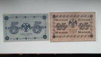 1918m. banknotai.