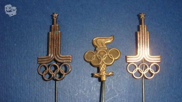Olimpiniai ženkliukai