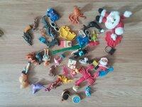 Modeliukai, žaisliukai iš KINDER siurprizų ir kt.