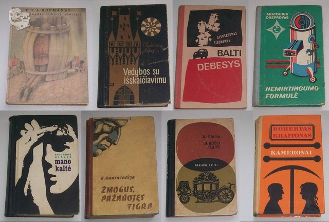 Kelios knygos, lietuvių kalba