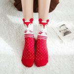 Kojinės su kalėdiniai motyvais