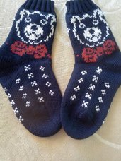 Kojinės mėlynos spalvos