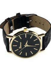 Juodas laikrodis Geneva