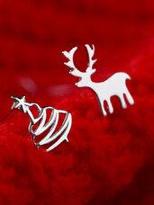 Kalėdiniai auskarai, 1 pora