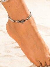 Kojos papuošalas-grandinėlė