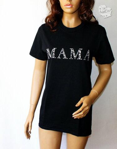 """Nuostabūs marškinėliai """"MAMA"""" dovana būsimoms ir esamoms"""