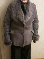 Verstos odos paltas su kailiu