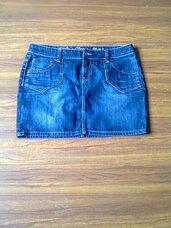 Sijonas džinsinis mėlynos spalvos