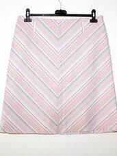 Šviesiai rožinis klasikinis sijonas