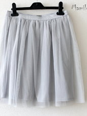 Puošnūs tiulio sijonai