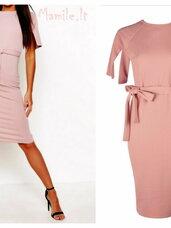 Elegantiškos peištuko formos, Nude spalvos suknelės