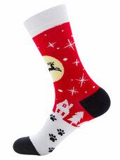 Vyriškos/moteriškos kojinės su kalėdiniais motyvais