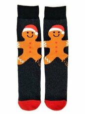 Vyriškos kojinės su kalėdiniais motyvais