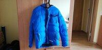 Mėlyna žieminė vyriška striukė