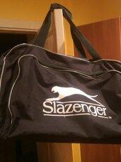 Didelis krepšys SLAZENGER su ratukais