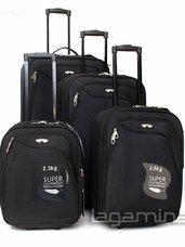 Įvairių lagaminų išpardavimas