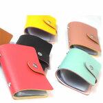 Kredito kortelių dėklas, įvairių spalvų