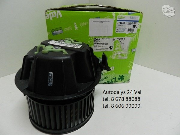 Salono ventiliatorių remontas keitimas pardavimas