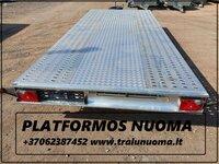 Platformos-tralo-traliuko-priekabų nuoma Alytuje! +37062387452