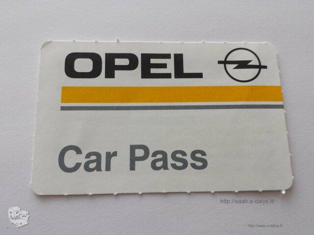 """Automobilio pasas """"Car Pass"""""""