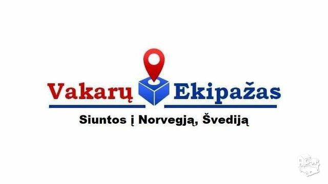 Siuntiniai Lietuva-Norvegija-Lietuva