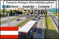 Eksponatų ir parodų įrangos pervežimas Lietuva – Austrija –