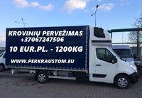 PERVEŽIMO, PERKRAUSTYMO PASLAUGOS visoje Lietuvoje ir Europoje.