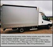 Krovinių gabenimas ( buitinės technikos, statybinių medžiagų,