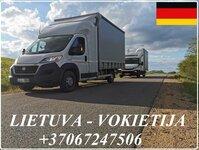 Lietuva - Vokietija - Lietuva ! Galime parvežti jūsų krovinius,