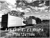 Baldų pervežimai  LIETUVA/EUROPA/LIETUVA +37067247506