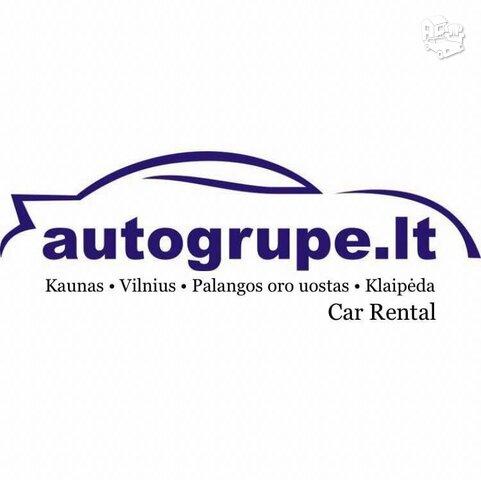 Automobilių nuoma - Autogrupė