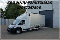 Ivairių krovinių, skubiu kroviniu pervežimas LIETUVA - EUROPA -