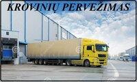 Negabaritinių krovinių, didelio tūrio (iki 115  m³) krovinių