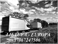 Ekspres Kroviniu pervezimas EUROPA - Lietuva - EUROPA