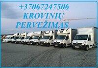 Transportavimo paslaugos Lietuva - Europa - Lietuva +37067247506