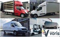 Dalinių ir pilnų krovinių gabenimas tentinėmis puspriekabėmis ir
