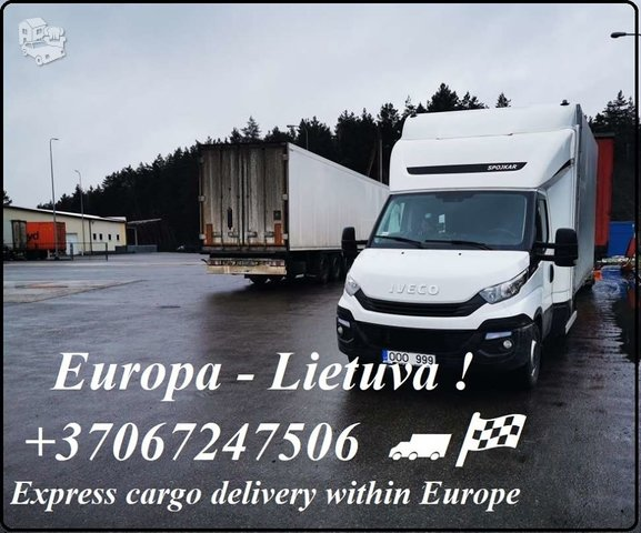 Metalo apdorojimo įrenginių pervežimai ( Lietuva - Europa -