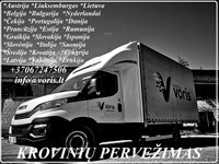 Lietuva- Europa - Lietuva Pervežimai,perkraustymai, expres perve
