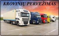 Krovinių pervežimai, Expres pervežimai, perkraustymai Lietuva-
