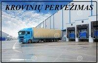 Perkraustymai, Krovinių pervežimai, Expres pervežimai Lietuva-