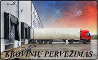 """UAB """"VORIS"""" teikia transporto paslaugas Lietuvoje ir visoje"""