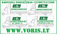 Extra detalių pervežimai EUROPA-LIETUVA, Europiniai