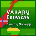 Keleivių,siuntinių pervežimas Lietuva - Norvegija - Lietuva