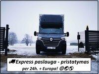 Express paslauga - pristatymas per 24h. + Europa!  EL.PAŠTAS: