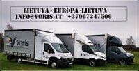 Kiekviena savaite važiuojame į EU galime paimti jūsu krovinį .