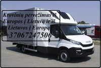 Pervežimo paslaugos / Krovinių gabenimas  LIETUVA - EUROPA -