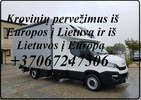 Greitas ir skubus krovinių pervežimas ir gabenimas Lietuva -