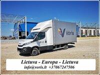 Express/ Skubūs pristatymai 1-2 dienos, krovinių pervežimas ir